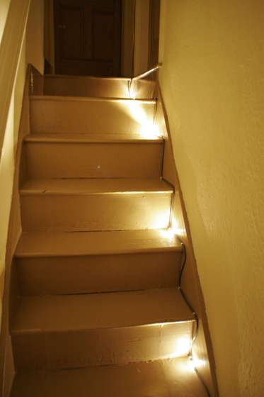 stair lights outdoor photo - 3