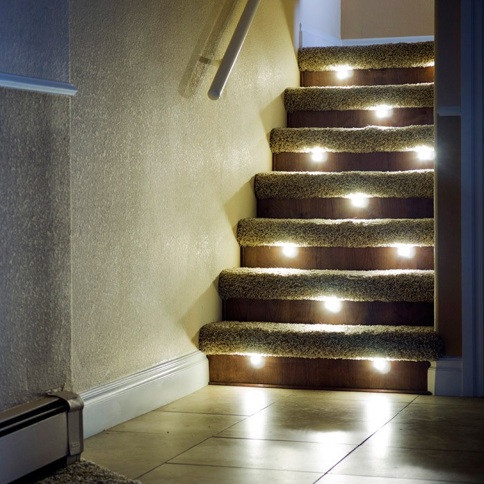 stair lights outdoor photo - 7