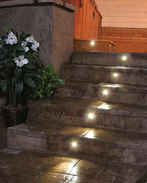 stair lights outdoor photo - 9