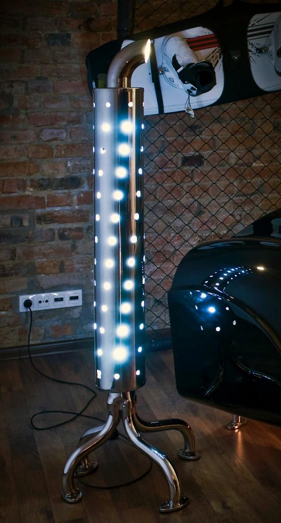 standing lamp photo - 7