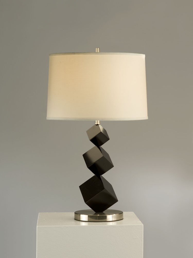 standing lamp with table photo - 2