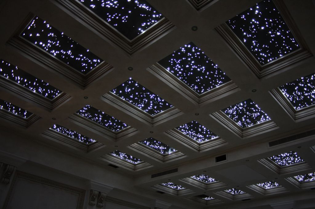 star effect ceiling lights photo - 2