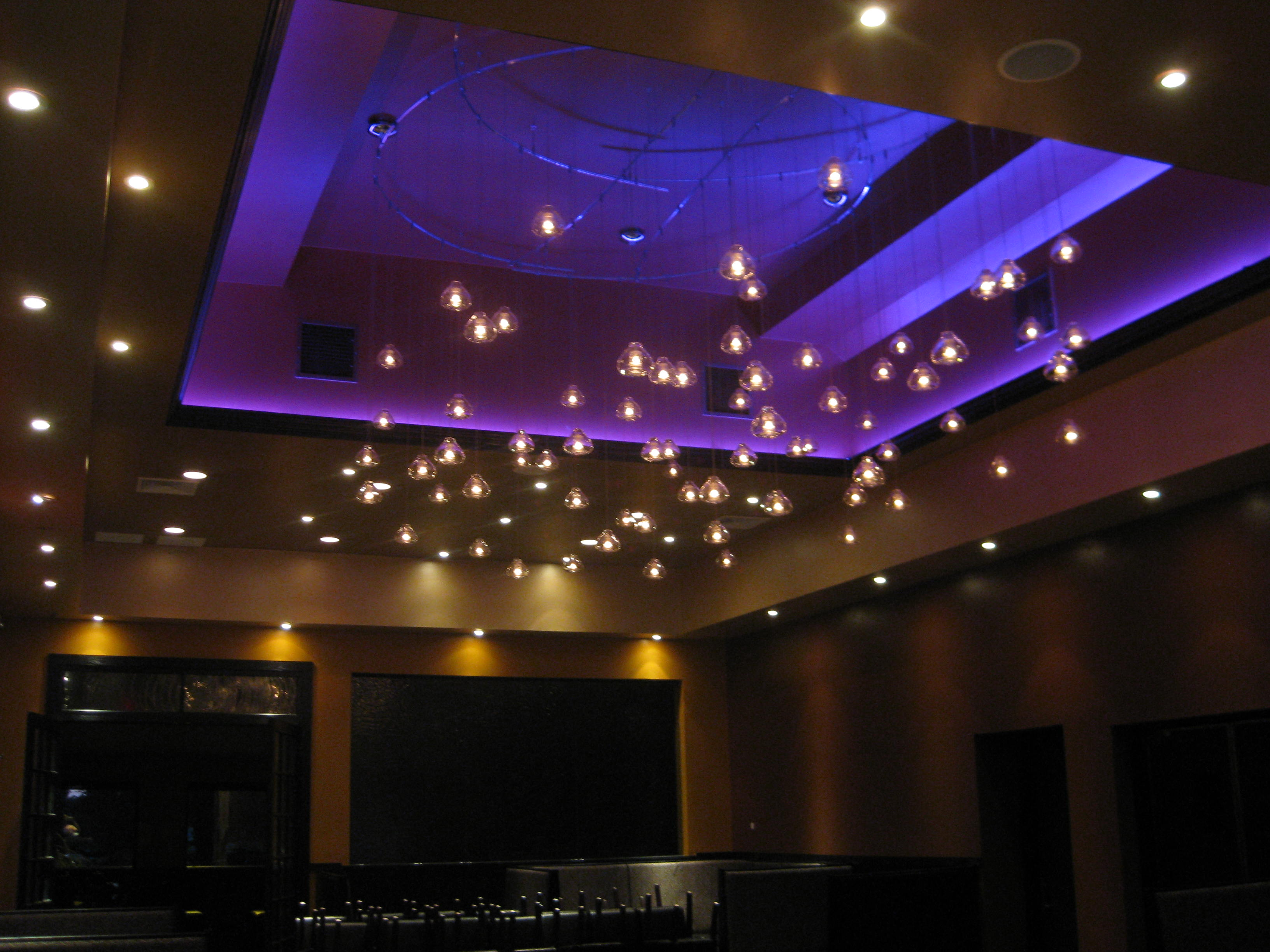 star led lights ceiling photo - 1