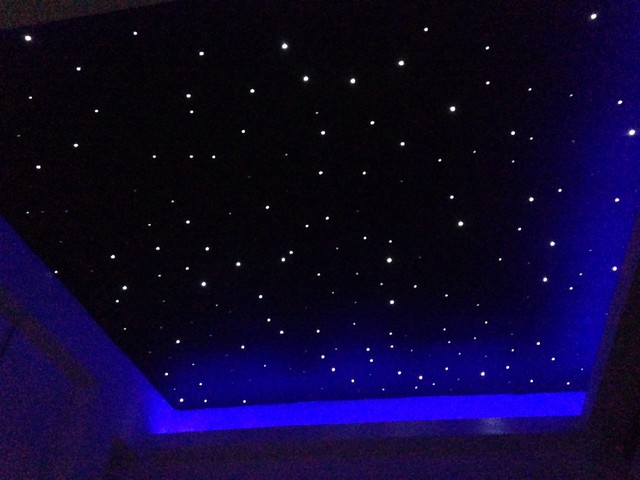 Fiber Optic Star Light On Ceiling Warisan Lighting