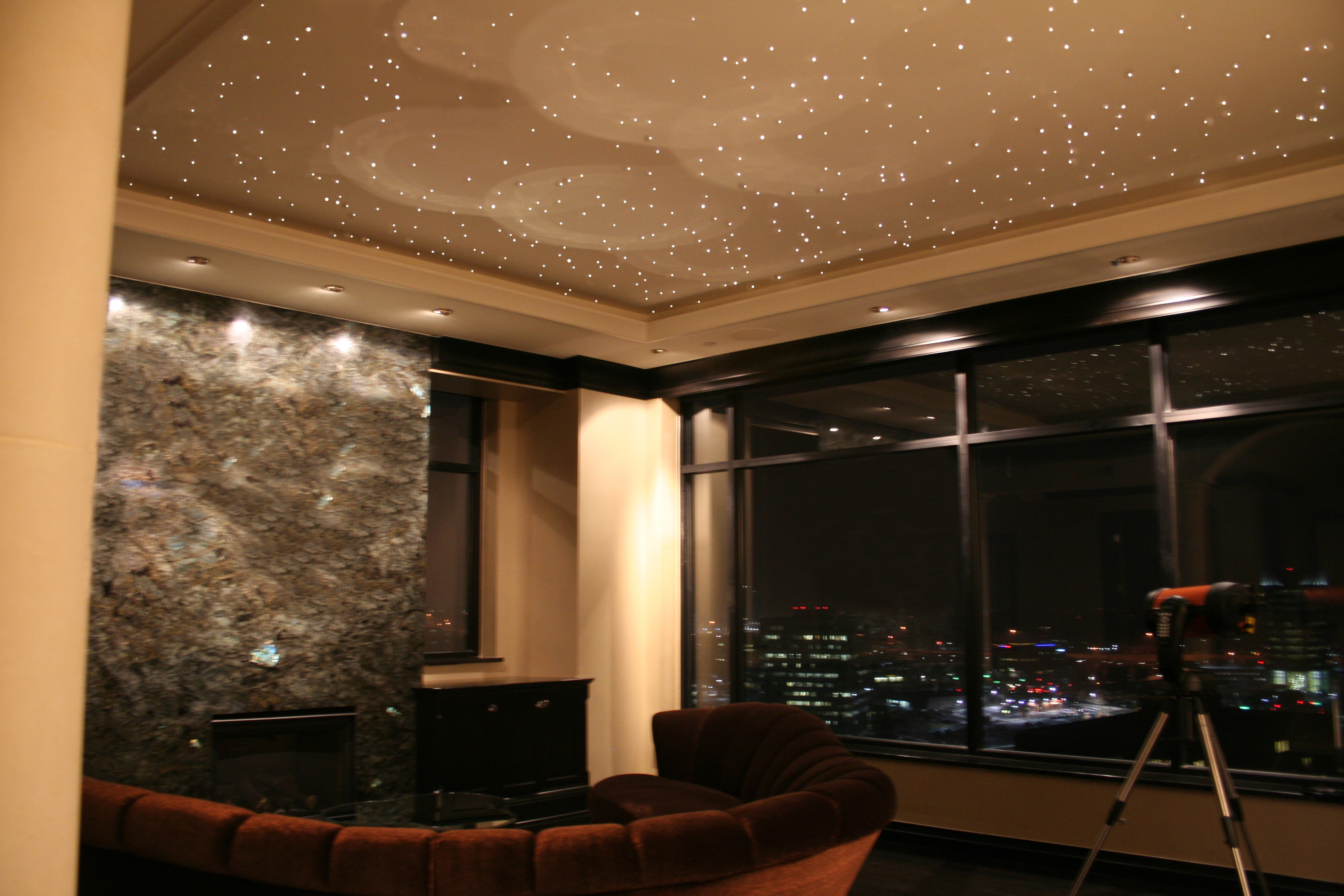 star lights on ceiling photo - 9