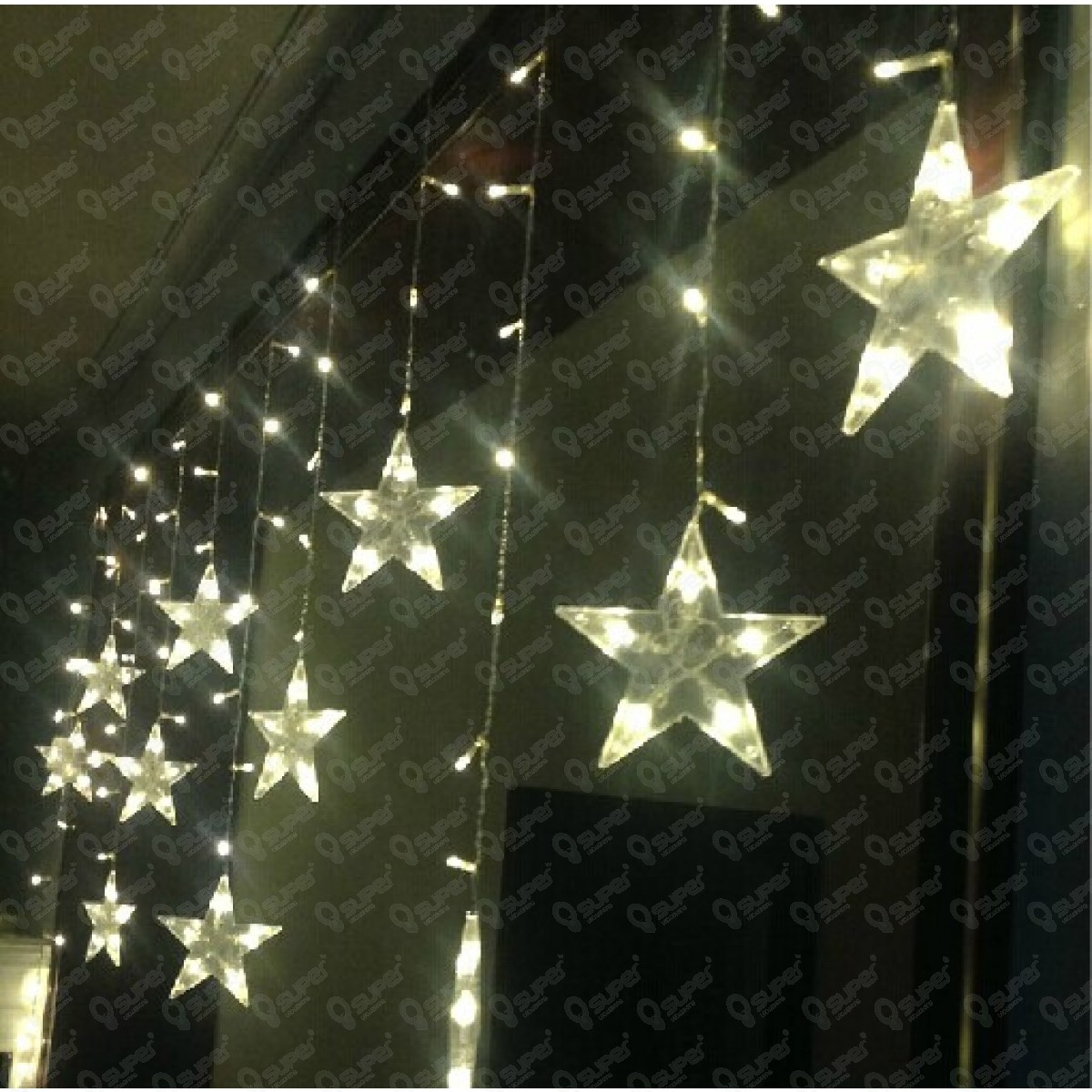star outdoor lights photo - 1