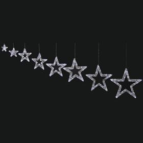 star outdoor lights photo - 10