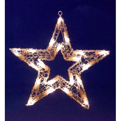 star outdoor lights photo - 6