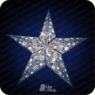star outdoor lights photo - 8
