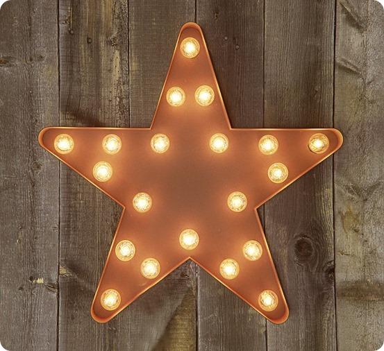 star wall lights photo - 6
