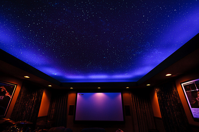 starry ceiling lights photo - 4