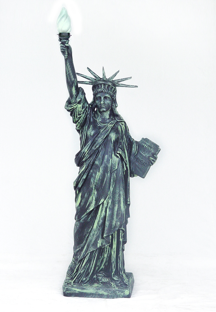statue of liberty lamp photo - 5