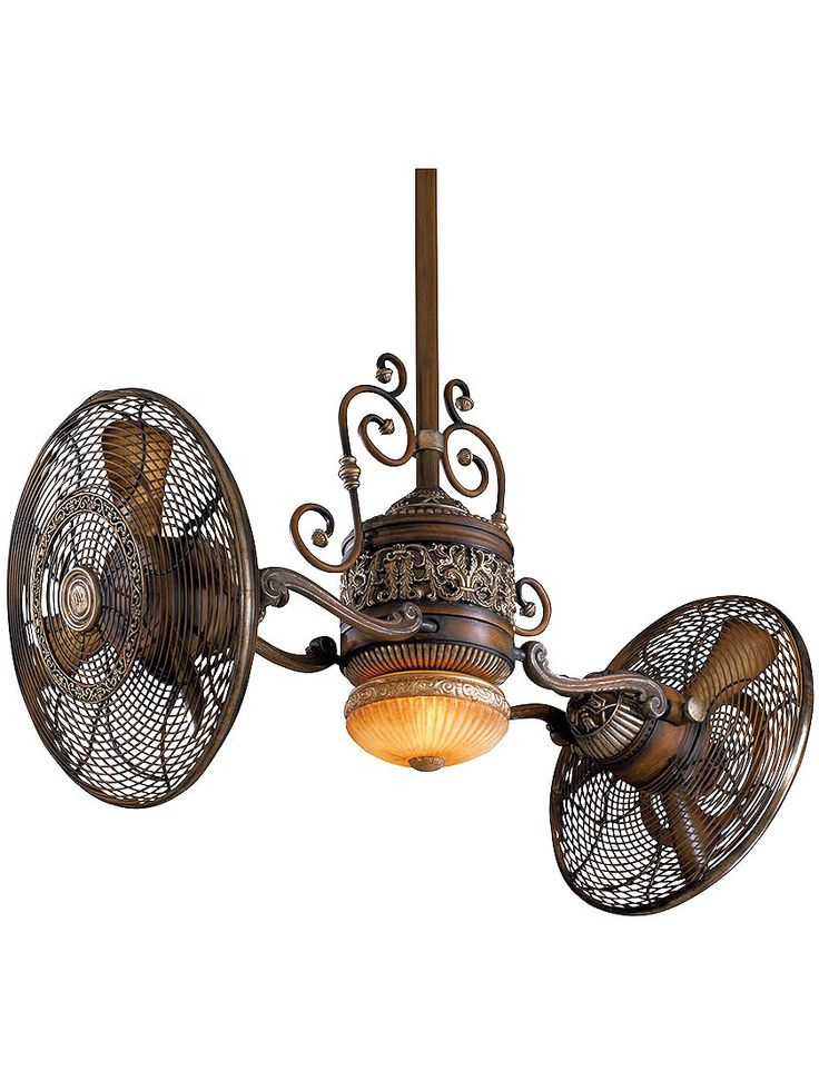 steampunk ceiling fan photo - 1