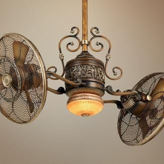 steampunk ceiling fan photo - 4