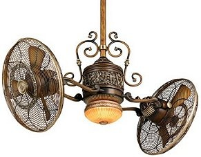 steampunk ceiling fan photo - 8