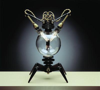 steampunk desk lamp photo - 6