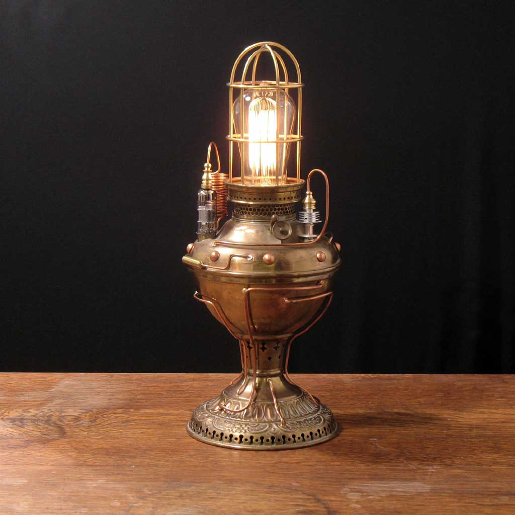 steampunk lamps photo - 1