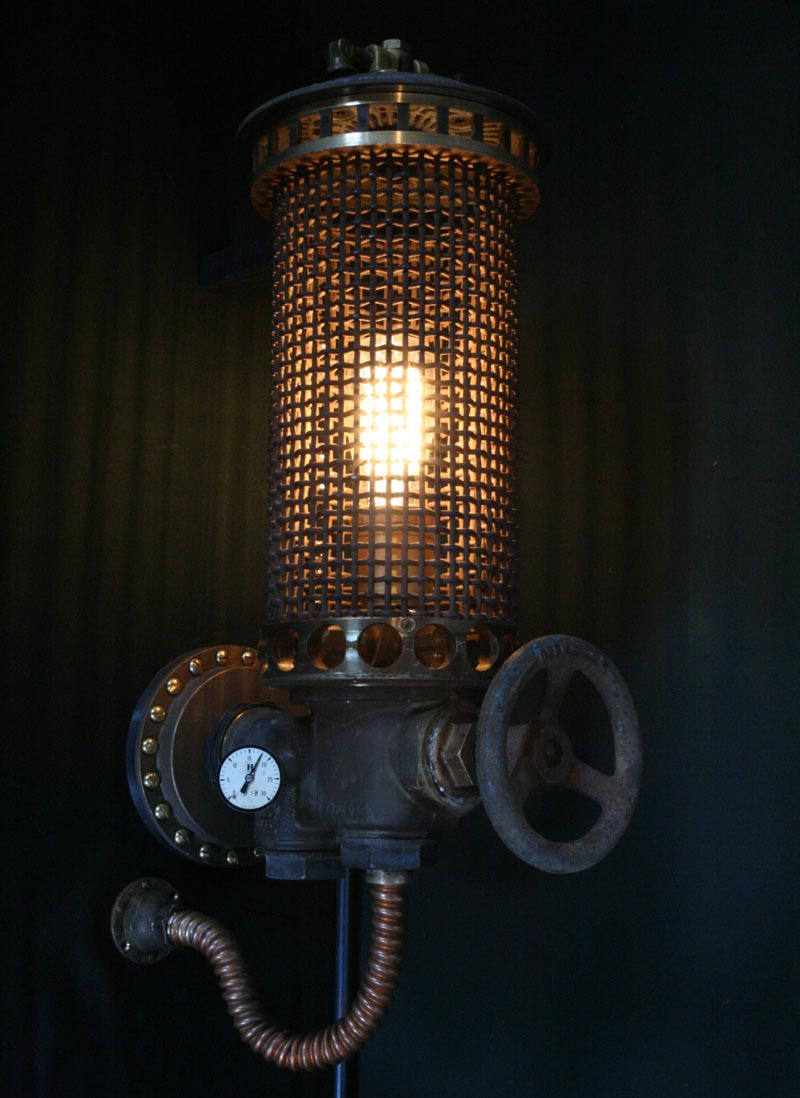 steampunk lamps photo - 10