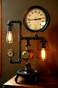 steampunk lamps photo - 2