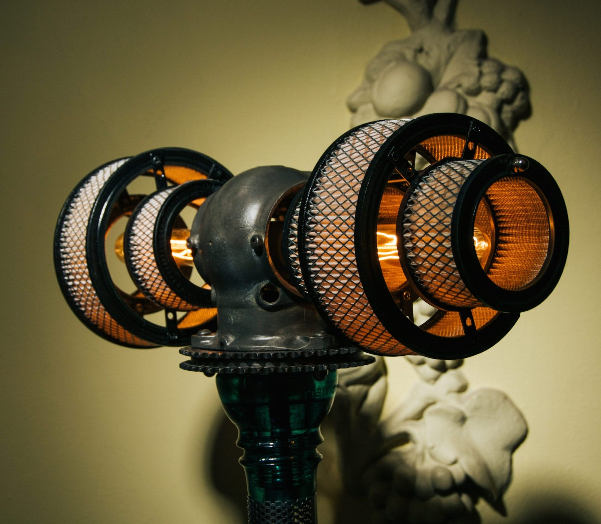 steampunk lamps photo - 5