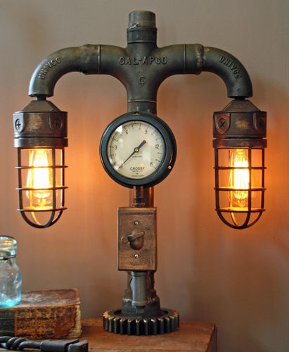 steampunk lamps photo - 6