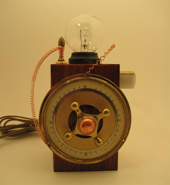 steampunk lamps photo - 7