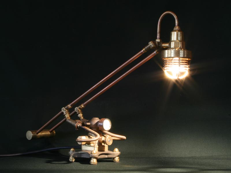 steampunk lamps photo - 8