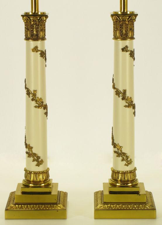 stiffel brass table lamps photo - 10