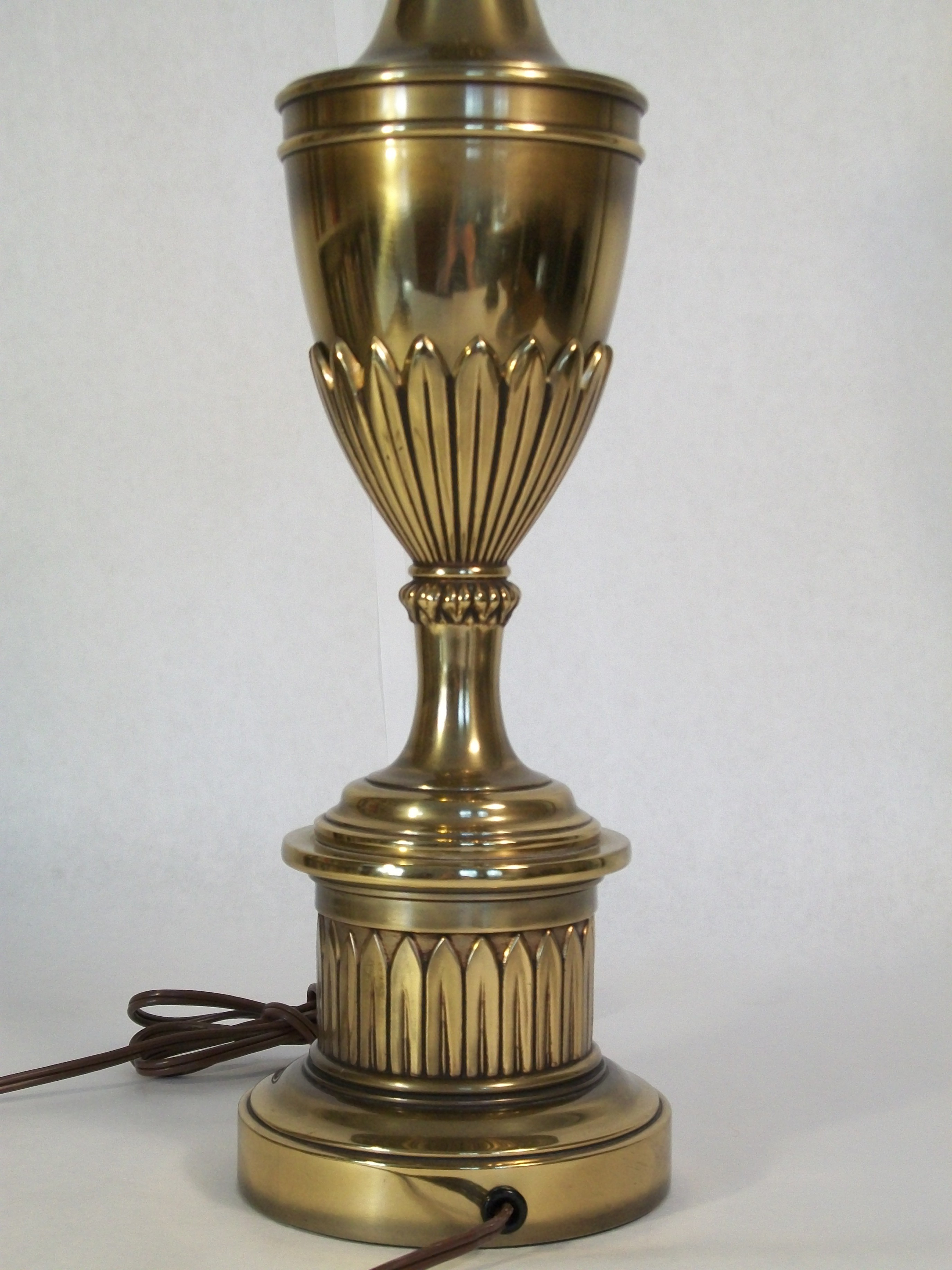 stiffel brass table lamps photo - 2