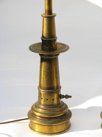 stiffel brass table lamps photo - 5