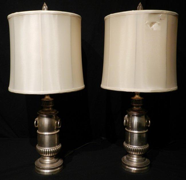stiffel brass table lamps photo - 7