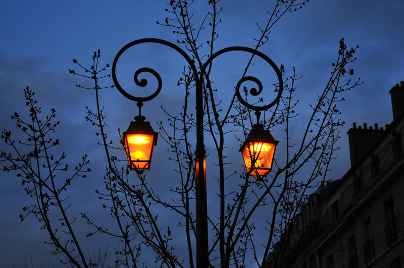 street lamp photo - 3