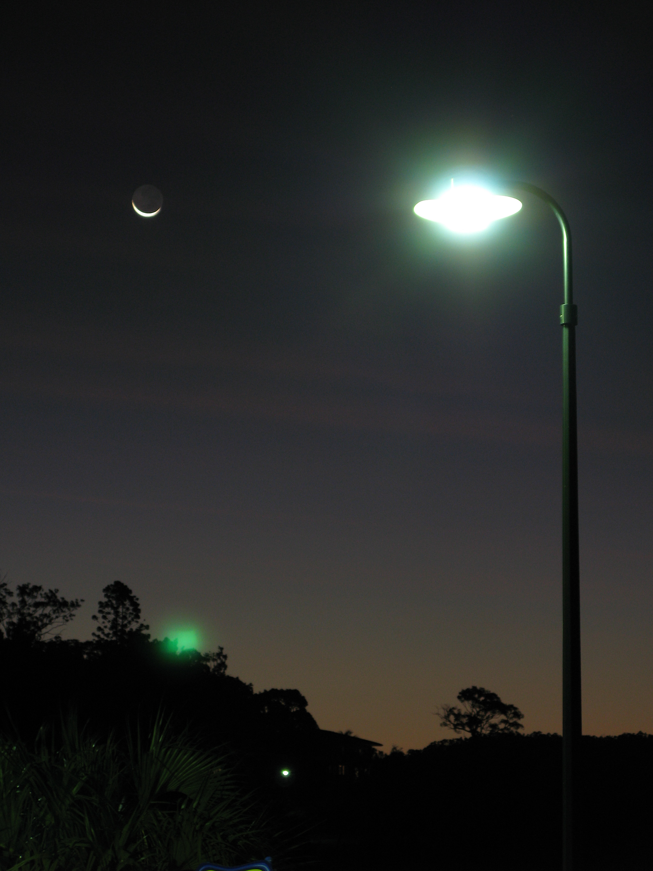 street lamp at night photo - 6