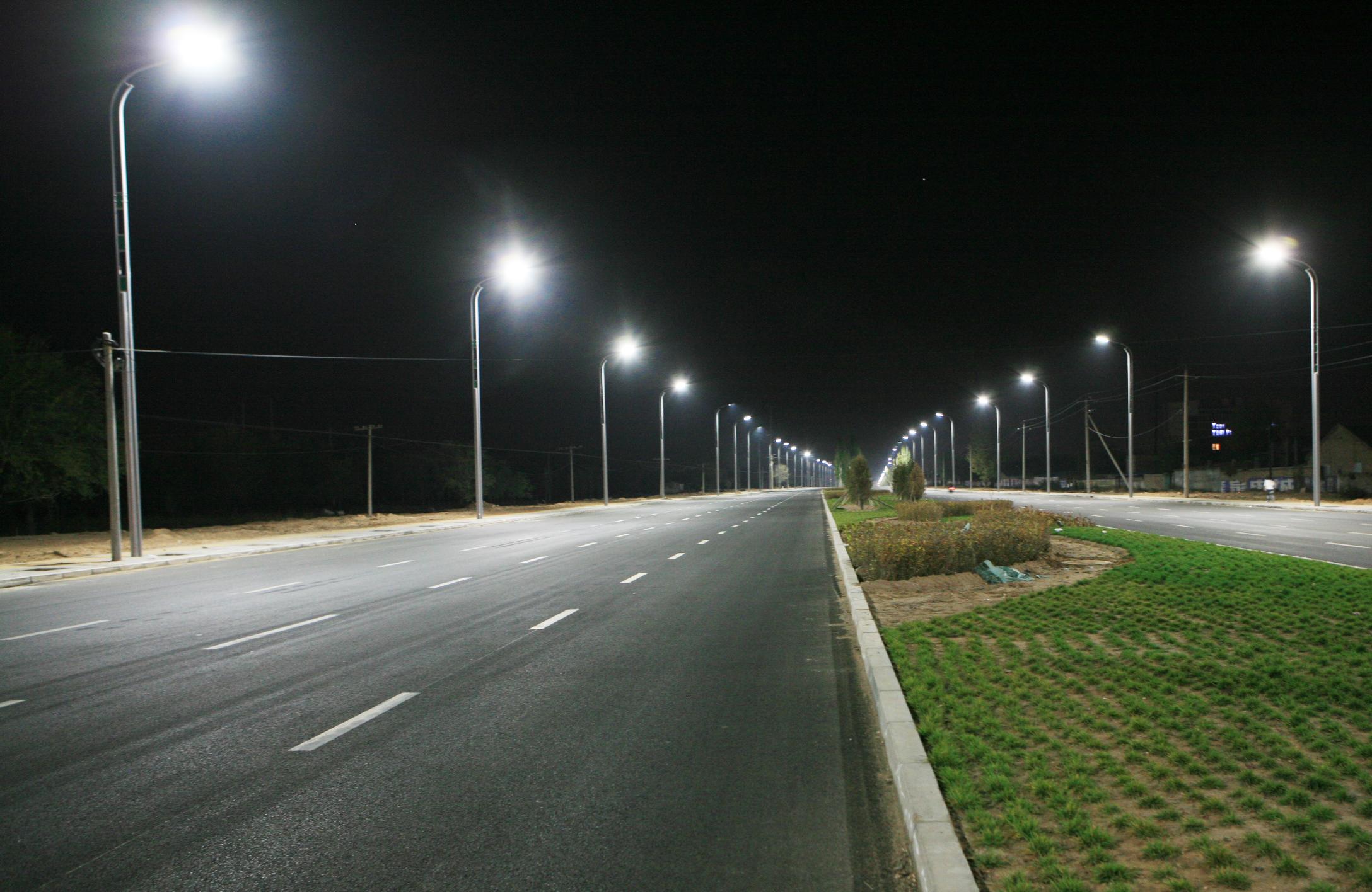 street lamps photo - 1
