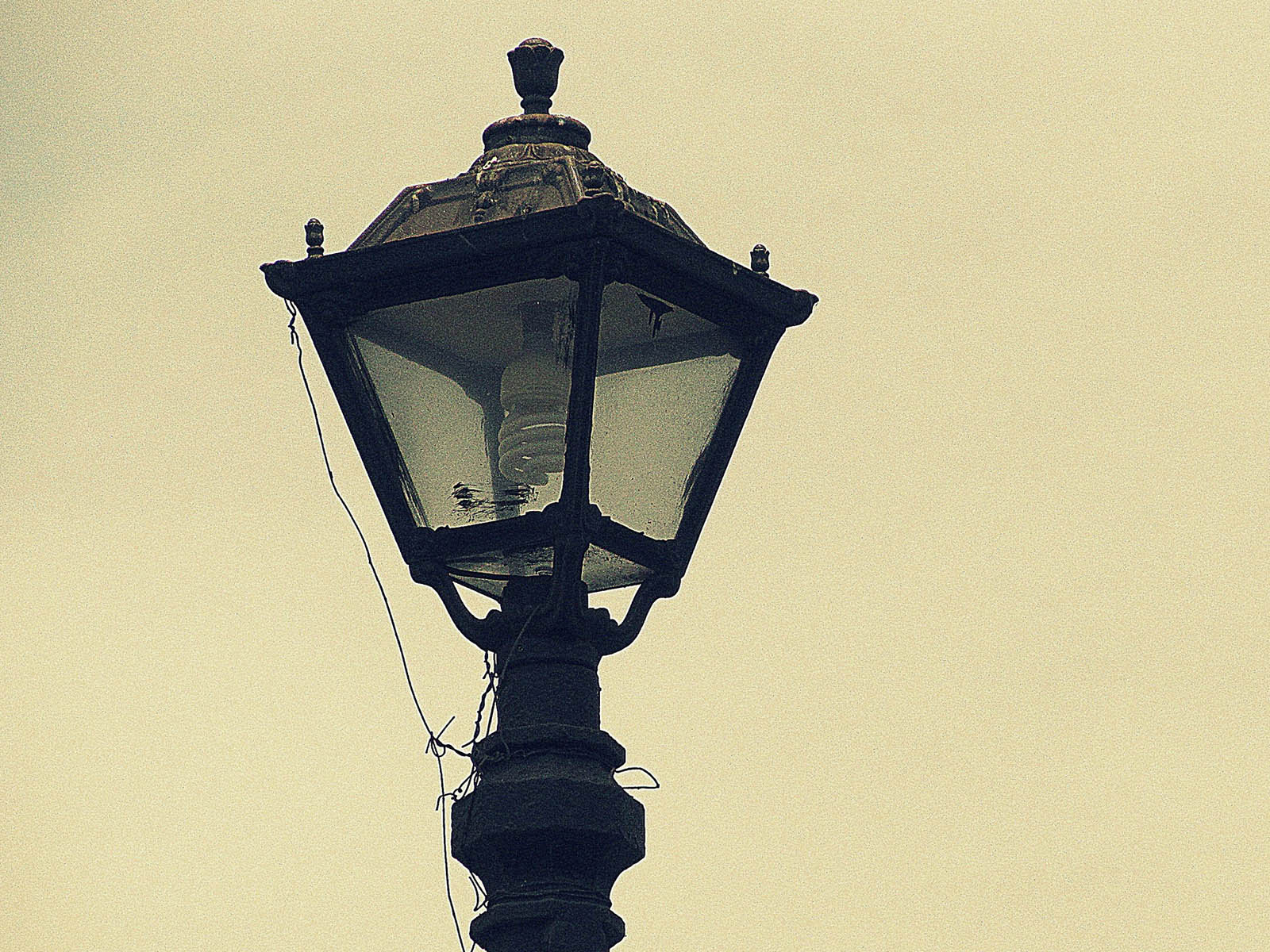 street lamps photo - 2
