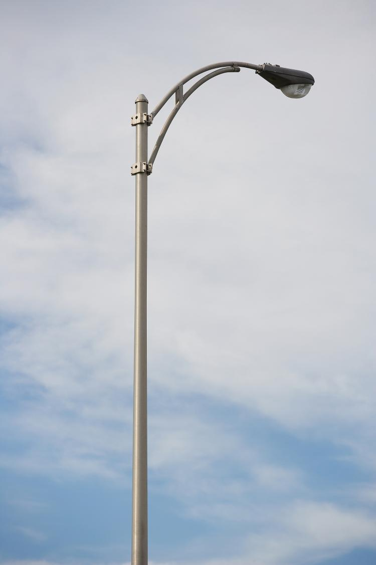 street lamps photo - 3