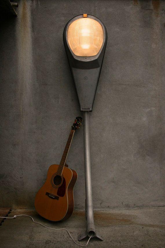 street light floor lamp photo - 1
