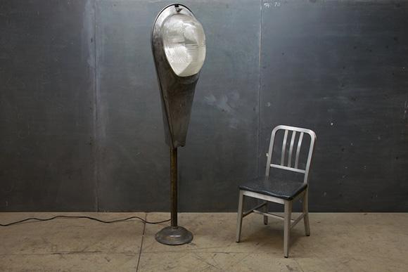street light floor lamp photo - 3
