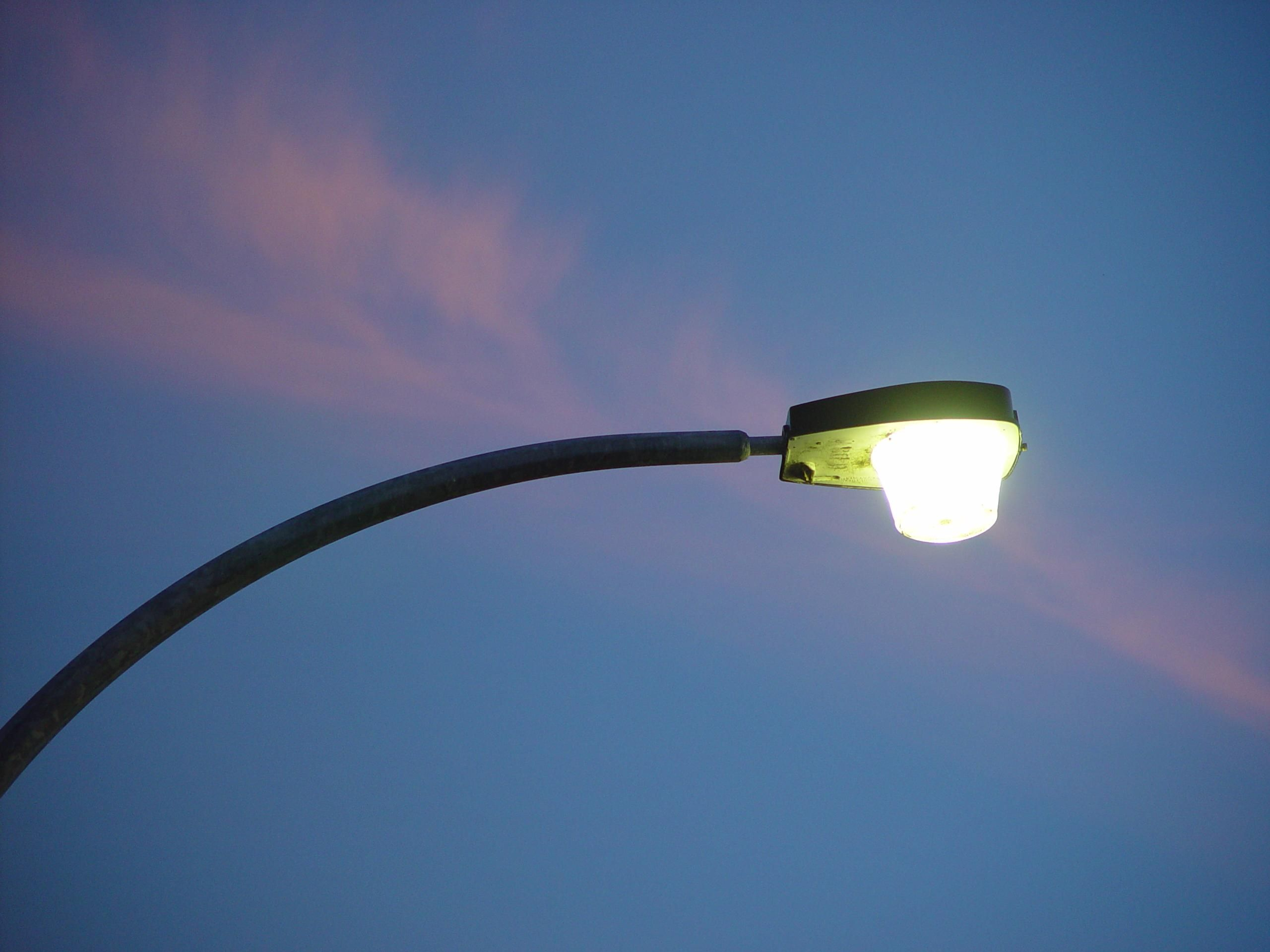 street light lamp photo - 4