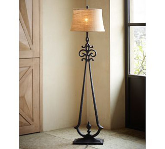 stylish floor lamps photo - 1