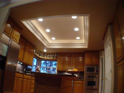 sunken ceiling lights photo - 1