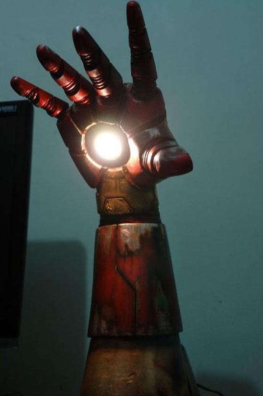 super hero lamp photo - 2