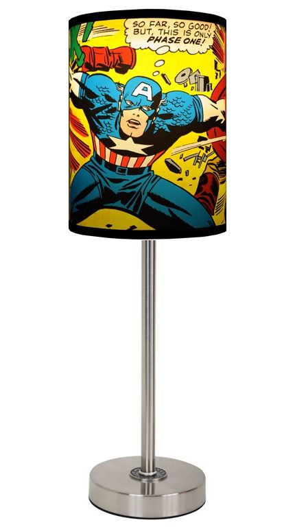 superhero lamps photo - 1