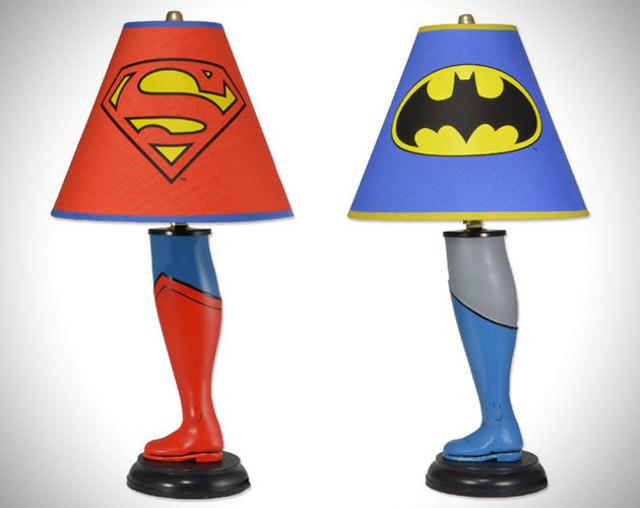 Superhero Lamps - Your Children's Lighting