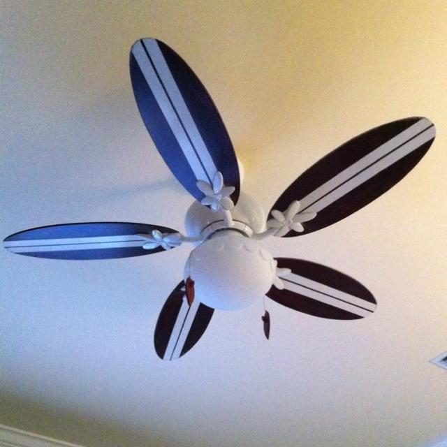 surfboard ceiling fan photo - 5