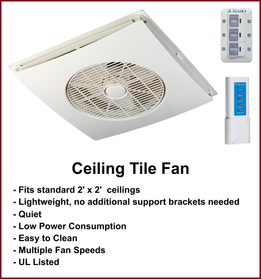 suspended ceiling fans photo - 1