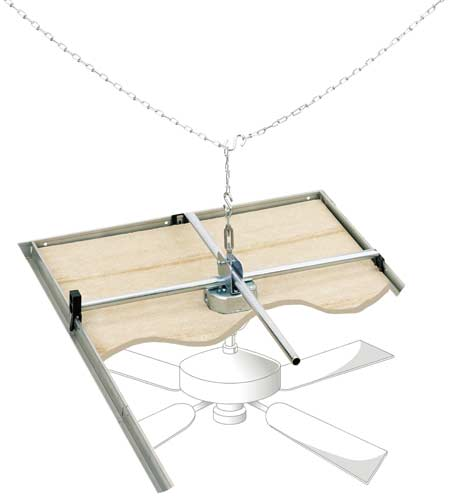 suspended ceiling fans photo - 10