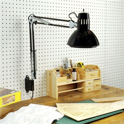 Adjustable Swing Arm Lamp Drafting Design Clamp Table Light Office Studio  Home - Swing Arm Lamp - Wall Mount Swing Arm Lamp Campernel Designs