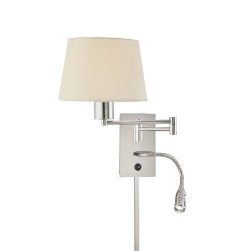 swing arm light wall mount photo - 8