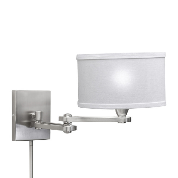 swing arm wall lamp plug in photo - 10